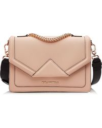 Karl Lagerfeld Klassic Leather Shoulder Bag - Lyst