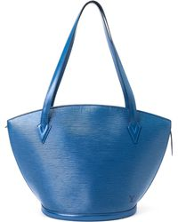 Louis Vuitton Blue Saint-Jacques Shoulder Bag - Lyst