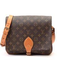 Louis Vuitton Shoulder Bag brown - Lyst