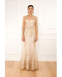 Notte By Marchesa Lace Embroidered Gown - Lyst