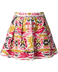 Antik Batik Orea Embroidered Skirt - Lyst