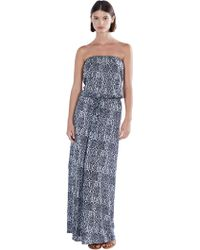 Joie Groovey Dress blue - Lyst