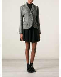 Moschino Cheap & Chic Fitted Blazer - Lyst