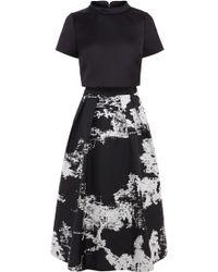 Coast Black Roxetta Dress - Lyst