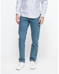 Need Supply Co. Tapered Fit Jeans Heavy Stone blue - Lyst