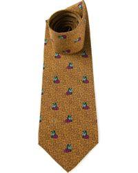 Valentino Vintage Butterfly Print Tie - Lyst