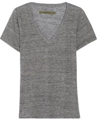 Enza Costa Slub Cotton Tshirt - Lyst