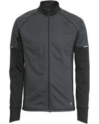 H&M Gray Running Jacket - Lyst