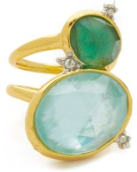 Alexis Bittar - Multi Stone Cocktail Ring - Lyst