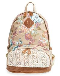 Nila Anthony | Floral Print Backpack | Lyst