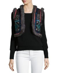 Christophe Sauvat - Chamber Embroidered-Cotton Vest - Lyst