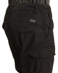 Diesel Aicha Black Cargo Trousers - Lyst