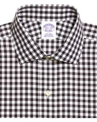 Brooks Brothers Noniron Regular Fit Gingham Dress Shirt - Lyst