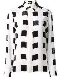 Kenzo Squares Shirt - Lyst