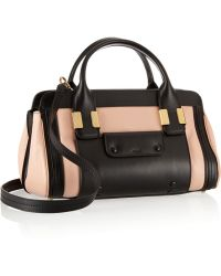 Chloé The Alice Small Leather Tote - Lyst