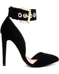Asos Prospect Pointed High Heels - Lyst