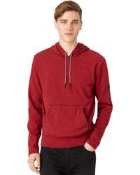 Calvin Klein Jeans Slub Knit Hoodie - Lyst