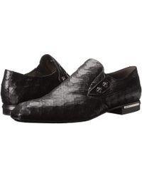 Cesare Paciotti Black slip-ons loafers - Lyst