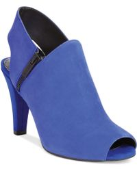 Kenneth Cole Reaction Shell Shock Shooties - Lyst