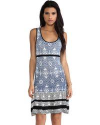 Shae - Drop Waist Dress - Lyst