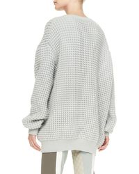 Marc Jacobs Crewneck Longsleeve Oversized Sweater - Lyst
