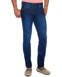 Hugo Boss Delaware  Slim Fit 925 Oz Stretch Cotton 5pocket Jeans - Lyst