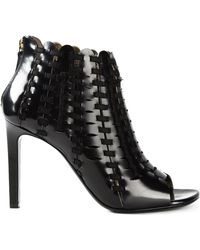 Lanvin Braided Boots - Lyst