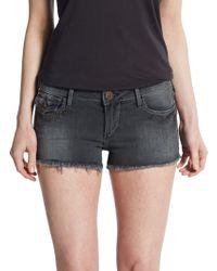 True Religion Joey Studded Cut-Off Shorts - Lyst