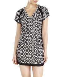 Twelfth Street Cynthia Vincent Embellished V-Neck Dress - Lyst