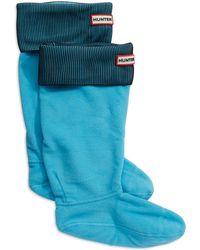 Hunter Ribbed Boot Socks - Lyst