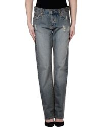 RVCA - Denim Trousers - Lyst