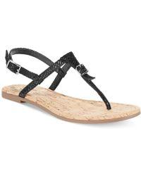 Cole Haan  Britt Flat Thong Sandals - Lyst