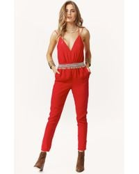 Blessed Are The Meek Paprika Jumpsuit - Lyst