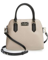Kate Spade 'Grove Court - Maise' Leather Satchel - Lyst