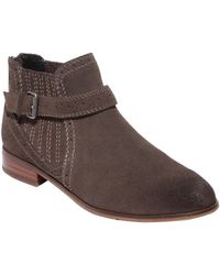 DV by Dolce Vita Charley Suede Ankle Boots - Lyst