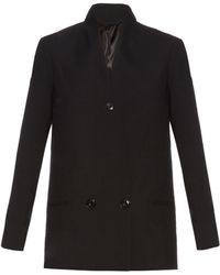 Lemaire - Double-breasted Virgin-wool Jacket - Lyst