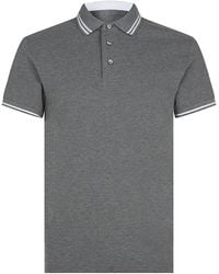 Zegna Sport - Tipped Polo Shirt - Lyst