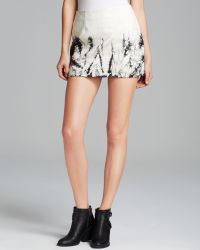 Sanctuary Mini Skirt Tie Dye Faux Leather - Lyst