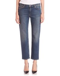 Acne   Row Stretch Vintage Relaxed Jeans   Lyst