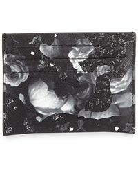 Givenchy Camo Rose Cardholder - Lyst