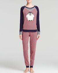 Kensie - Penguin Thermal Pyjama Set - Lyst