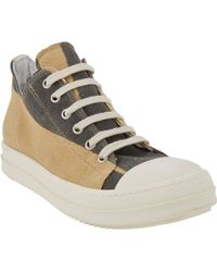 DRKSHDW by Rick Owens - Captoe Lowtop Trainers - Lyst