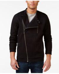 Calvin Klein   Quilted Quarter Zip Sweatshirt   Lyst