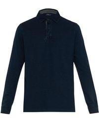 Polo Ralph Lauren Long-Sleeved Cotton Polo Shirt - Lyst