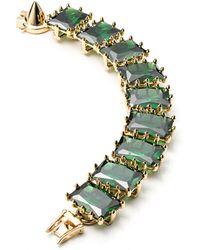 Eddie Borgo - Large Rectangle Estate Bracelet - Lyst