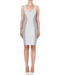 French connection Mosaic Strappy Dress Winter White Multi - Lyst