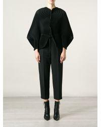 Issey Miyake Thin Pleated Oversized Jacket - Lyst