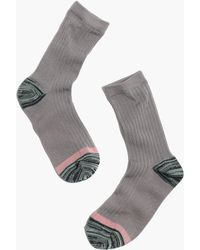 Madewell 1937 Colorblock Ribbed Trouser Socks - Lyst