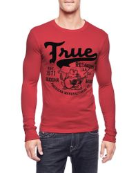 True Religion Hand Picked Heavy Hitter Mens T-shirt - Lyst