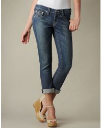 True Religion Womens Cameron Jeans - Lyst